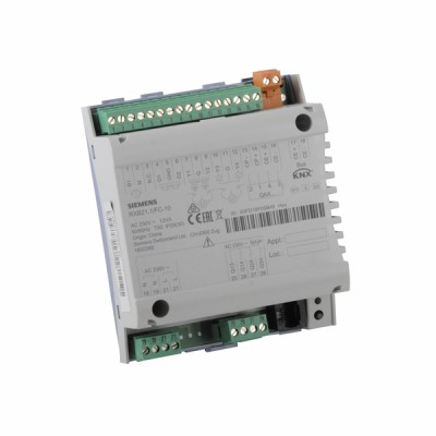 Room controller for 3-speed fan - SIEMENS : RXB21.1/FC-10