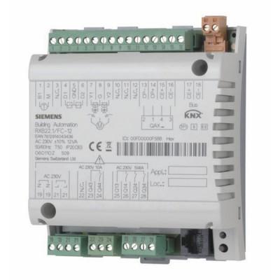 Régulateur communicant de VC + batterie électrique - SIEMENS : RXB22.1/FC-12