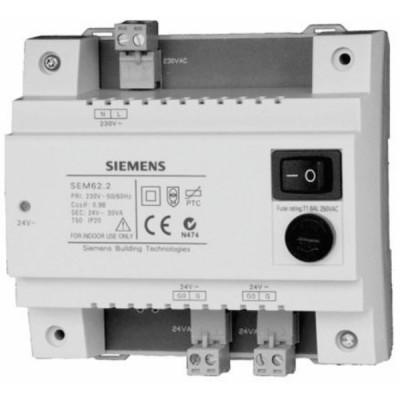 Transformator mit Schalter und auswechselbarer Sicherung - SIEMENS : SEM62.2