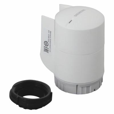 Servomoteur thermique 100N 4.5mm TOR 230Vac 210s sans câble NO - SIEMENS : STA23/00
