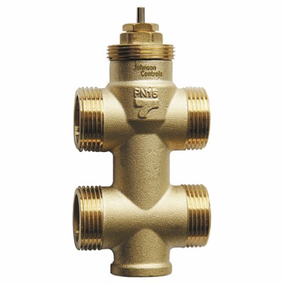 3-Way terminal unit control valve with bypass - JOHNSON CONTR.E : VG3410JS