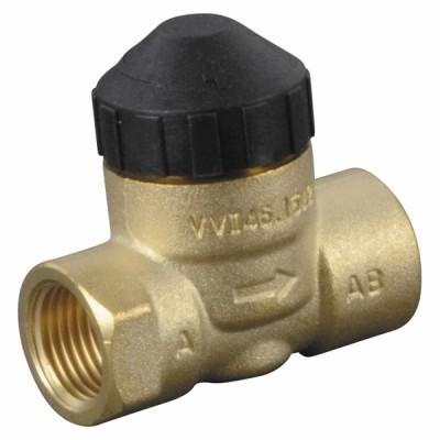 "Vanne zone 2V PN16 DN15 Kvs2.15 F1/2"" VVI - SIEMENS : VVI46.15/2"