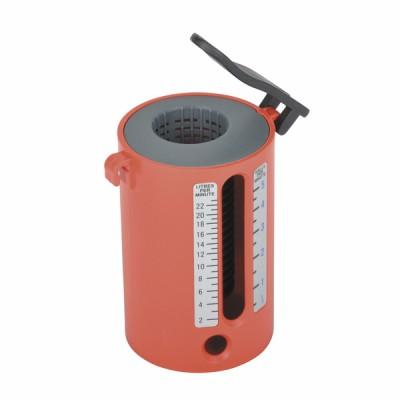 Durchsatzmessung Tasse PVC von 2 bis 22l/min  - DIFF