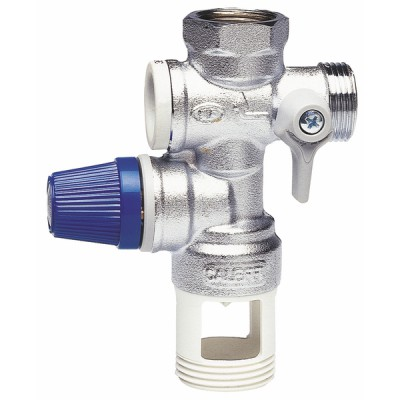 Safety unit stainless anti-liming