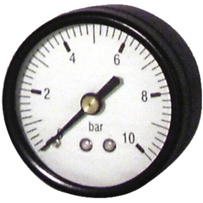Manometro assiale 0-6 bar Ø 56mm