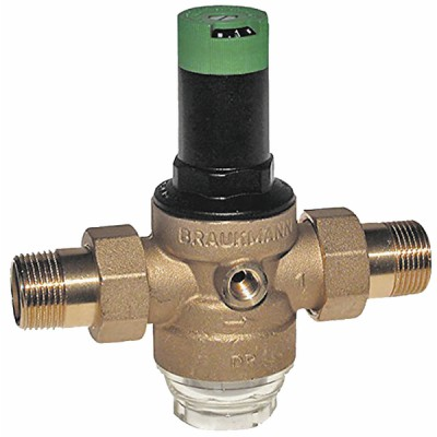 Pressure reducing valve D06F removable integrated filter M 3/4  - HONEYWELL : D06F-3/4A