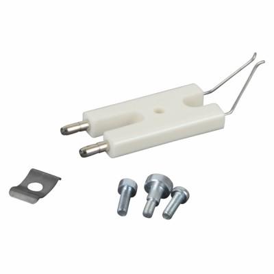 Bloc électrode + vis - CUENOD : 13007907