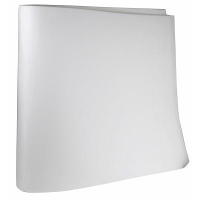 Feutre réfractaire semi-rigide 1000x500x3mm (X 3) - DIFF