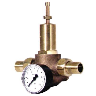 Armatur Einstellbarer Öldruckregler 1 à 8 bars - DIFF