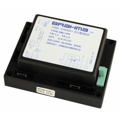 Zündgehäuse CD bis 20 05 - DIFF für Frisquet: F3AA40849