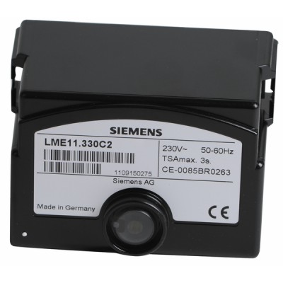 Steuergerät LANDIS und  GYR STAEFA - SIEMENS Gas LME 21 330A2 - SIEMENS: LME21 330C2