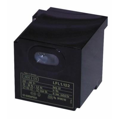 Steuergerät LANDIS und  GYR STAEFA - SIEMENS Gas LFL 1.635 - SIEMENS: LFL1.635