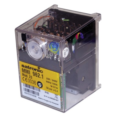 Control box satronic gas mmi 962-23 - RESIDEO : 06256U