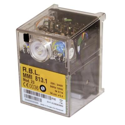 Control box satronic gas mmi 813.1 mod 23 - RESIDEO : 0622220U