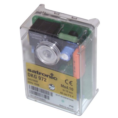 Boîte de contrôle SATRONIC DKG 972 - RESIDEO : 0432010U