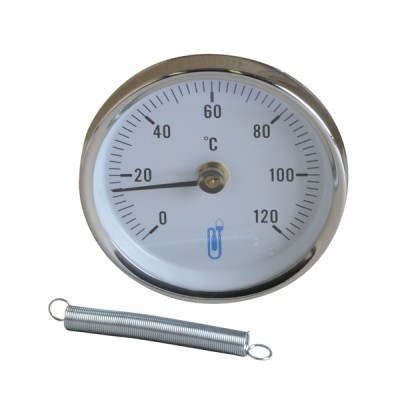 Termómetro de aplique 0 a 120°C