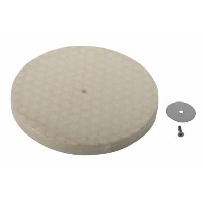 Garniture céraplaque fond foyer - RENDAMAX : 64200500