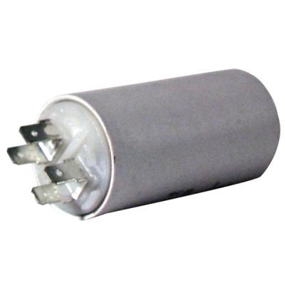 Standard permanenter Kondensator 15 µF (Ø40 xLg.72 xGesamt 96) - DIFF