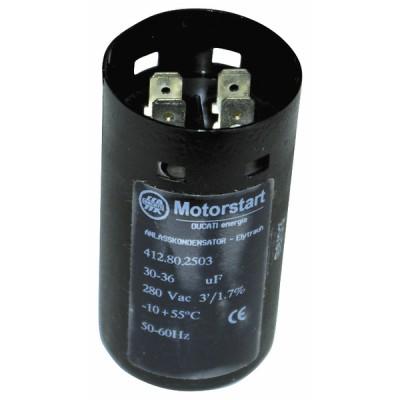 Condensateur électrochimique 50µF Ø37x84(hors tous 92) - DIFF