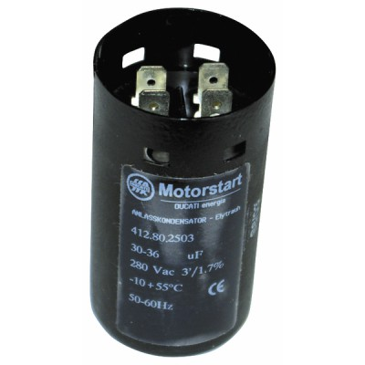 Condensatore standard elettrochimico 100 µf - DIFF