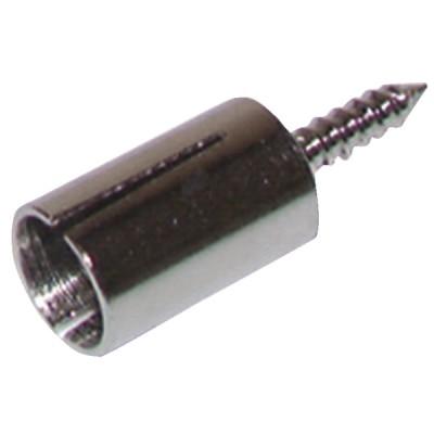 Cosse laiton 6.35  (X 12) - ELCO : 101041