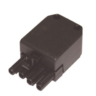 Connettore maschio 4 poli - DIFF