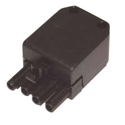 Connector female 4 poles  - DIFF : 803041