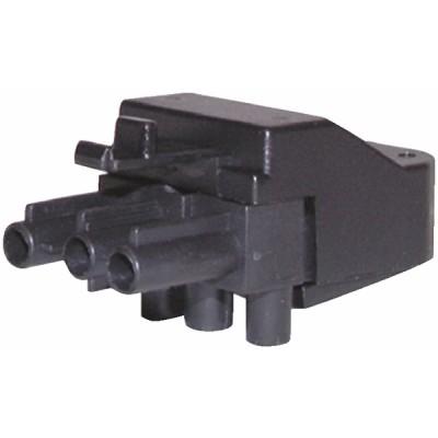 Connettore femmina 3 poli - DIFF