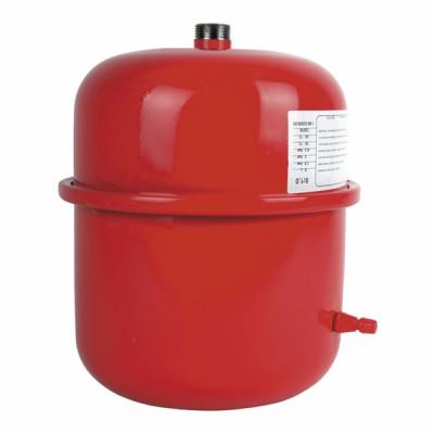 Ausdehnungsgefäß 7l männlich 3/4 Zylinder - GEMINOX: 87168035200
