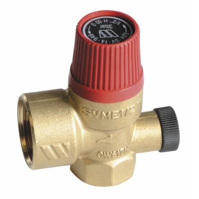 Sicherheitsventil Wasser - BOSCH THERMOTECH: 87168505150