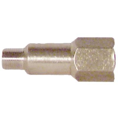 Racor chifle para manómetro M1/8''