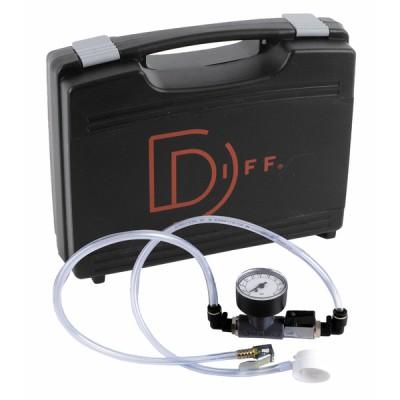 Ausdehnungsgefäß Set Druckmesser 0 bis 3 bar  - DIFF