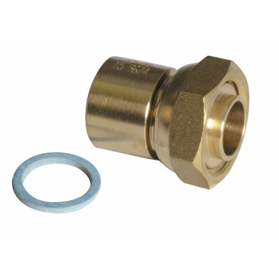 "2-Part connector 3/4"" copper 22 - DIFF"
