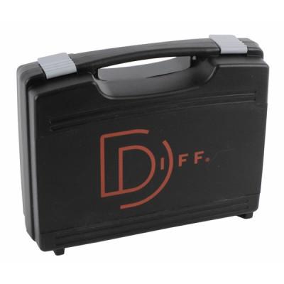 Valigetta nera con 2 spugne 363x307x121 - DIFF