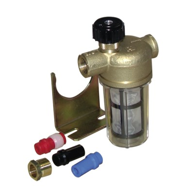 "Filtre fioul Une conduite avec robinet FF3/8"" RV - WATTS INDUSTRIES : 22L0135100"