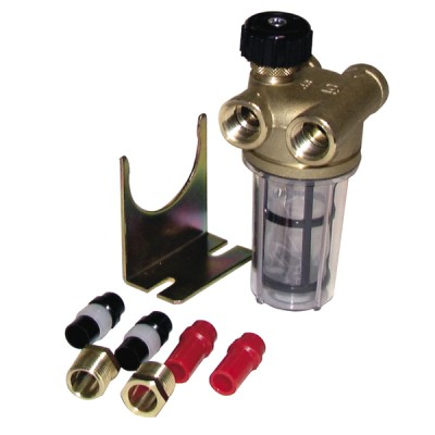 Filtro 2 conductos con válvula de corte HH3/8'' RV - WATTS INDUSTRIES : 22L0133100