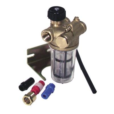 Filtro gasoil reciclaje con válvula de corte HH3/8 - WATTS INDUSTRIES : 22L0137100