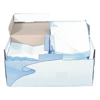 Papier-Wischtücher Vlies (Kiste mit 200 Blättern)  (X 200) - DIFF