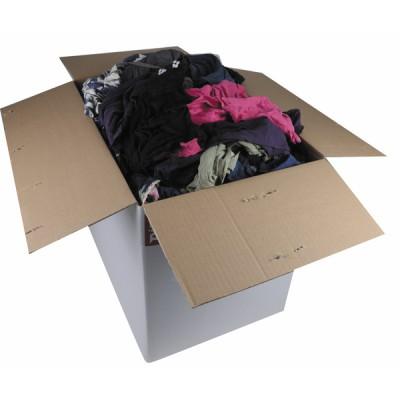 Individueller Schutz Farbige Lappen (Karton 10kg)  - DIFF