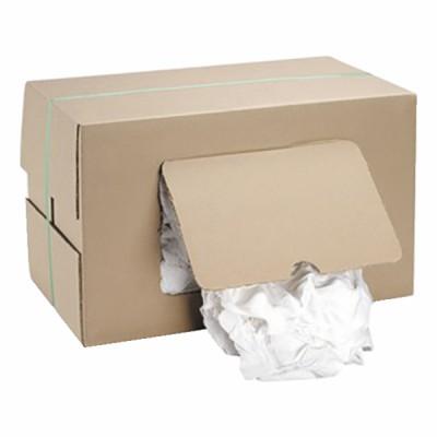 Carton chiffon coton blanc 10kg - DIFF
