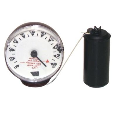Zisternenzubehör Mechanischer Maßstab mit Schwimmer Typ M 220V - WATTS INDUSTRIES: 22L0103102
