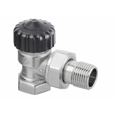 Standard thermostatic radiator valve body Calypso angle DN10 3/8 - IMI HYDRONIC : 3441-01.000