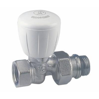 Straight valve R422TG 1/2 - GIACOMINI : R422X133