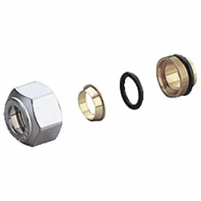 Adaptateur tube cuivre R178 18 x 18 - GIACOMINI : R178X036