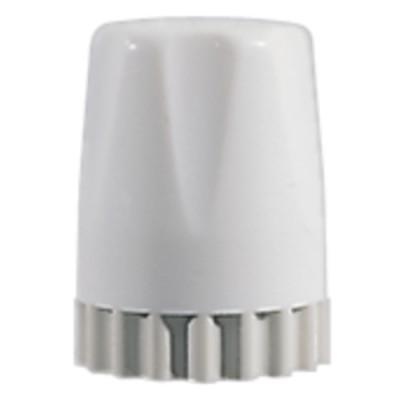 Tête manuelle réglable de robinet thermostatique