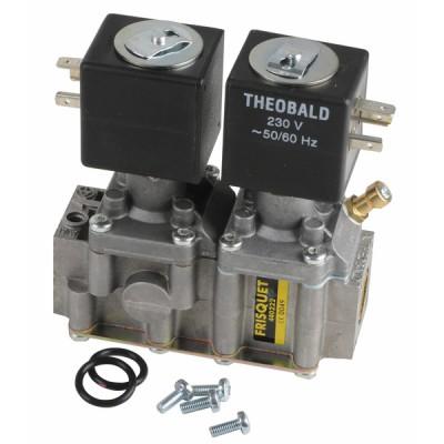 Bloc gaz TK25 ventouse - FRISQUET : F3AA40436