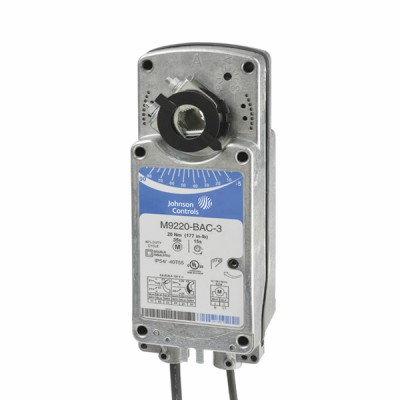 Spring return rotary actuator (vg10e5/vfb) 20Nm - JOHNSON CONTR.E : M9220-BDC-1