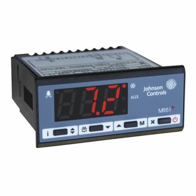 Thermostat froid/chaud 1 sonde encastrable MR51 - JOHNSON CONTR.E : MR51PM230-1CA