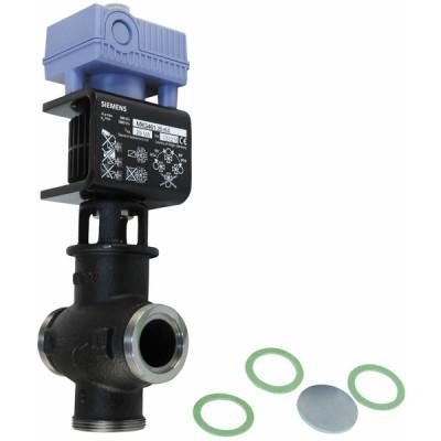 Regelventil mit Magnetantrieb, Außengewinde, PN16, DN25, kvs 8 - SIEMENS: MXG461.25-8.0