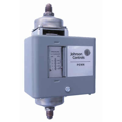Differential pressure switch for water sty15 1/4-18nptf switch SPDT - JOHNSON CONTR.E : P74FA-9700